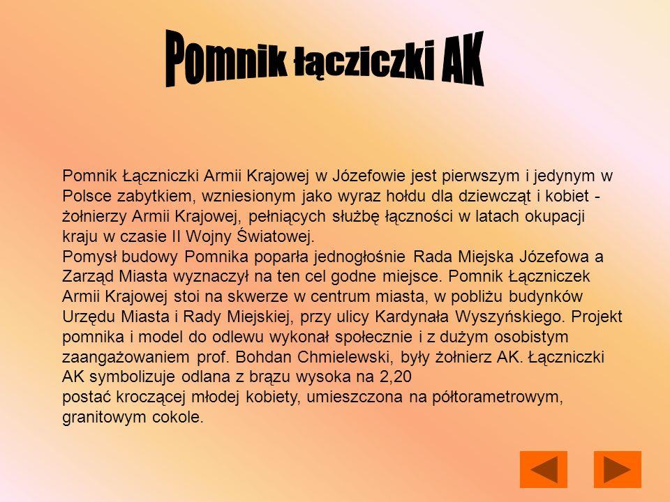 Pomnik łącziczki AK