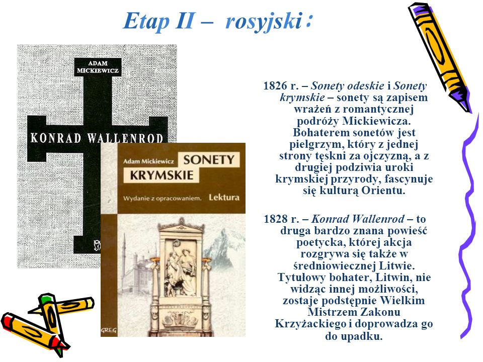 Etap II – rosyjski: