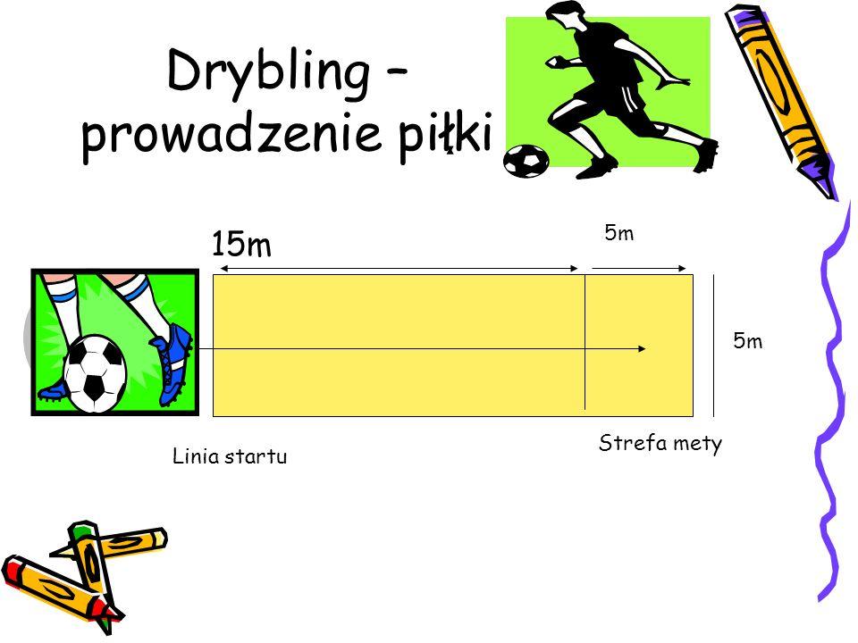 Drybling –prowadzenie piłki
