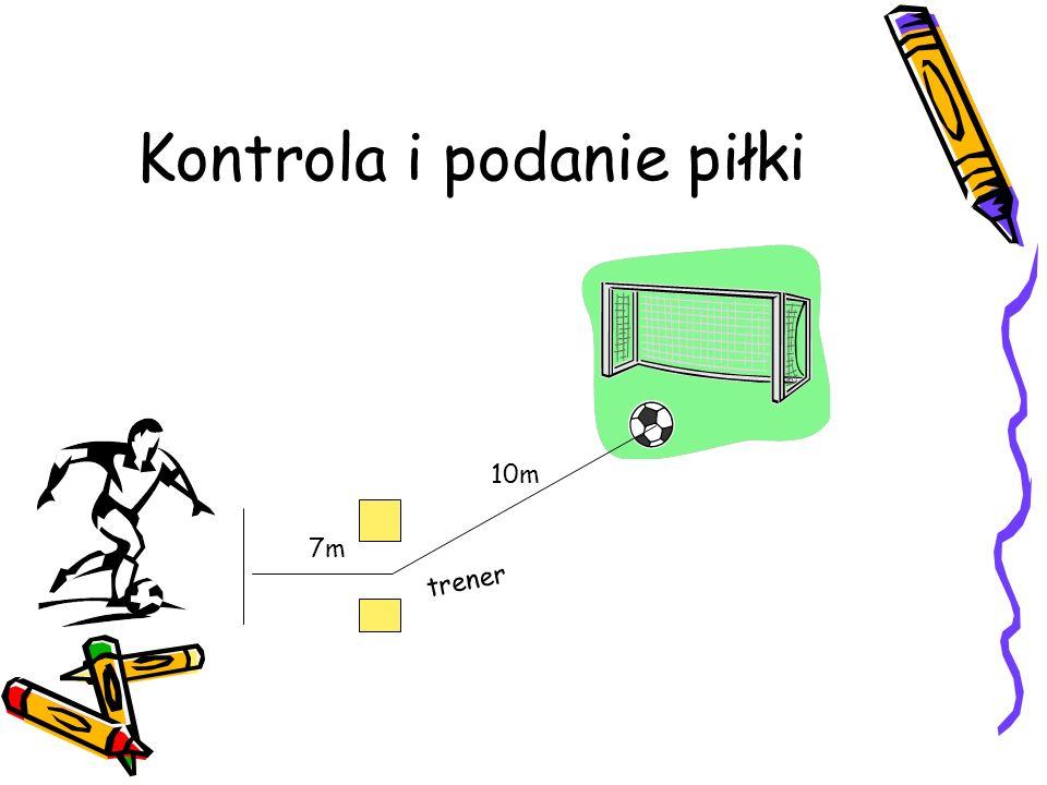 Kontrola i podanie piłki