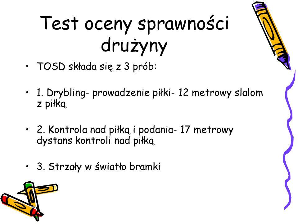 Test oceny sprawności drużyny