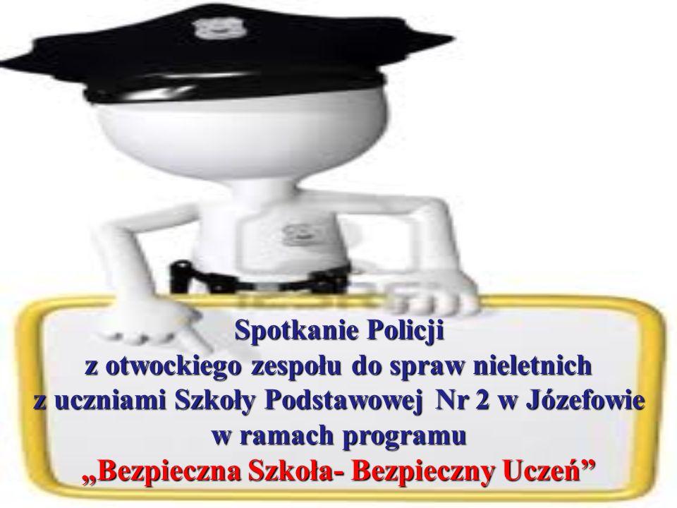 """""""Bezpieczna Szkoła- Bezpieczny Uczeń"""