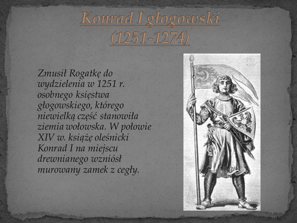 Konrad I głogowski (1251-1274)