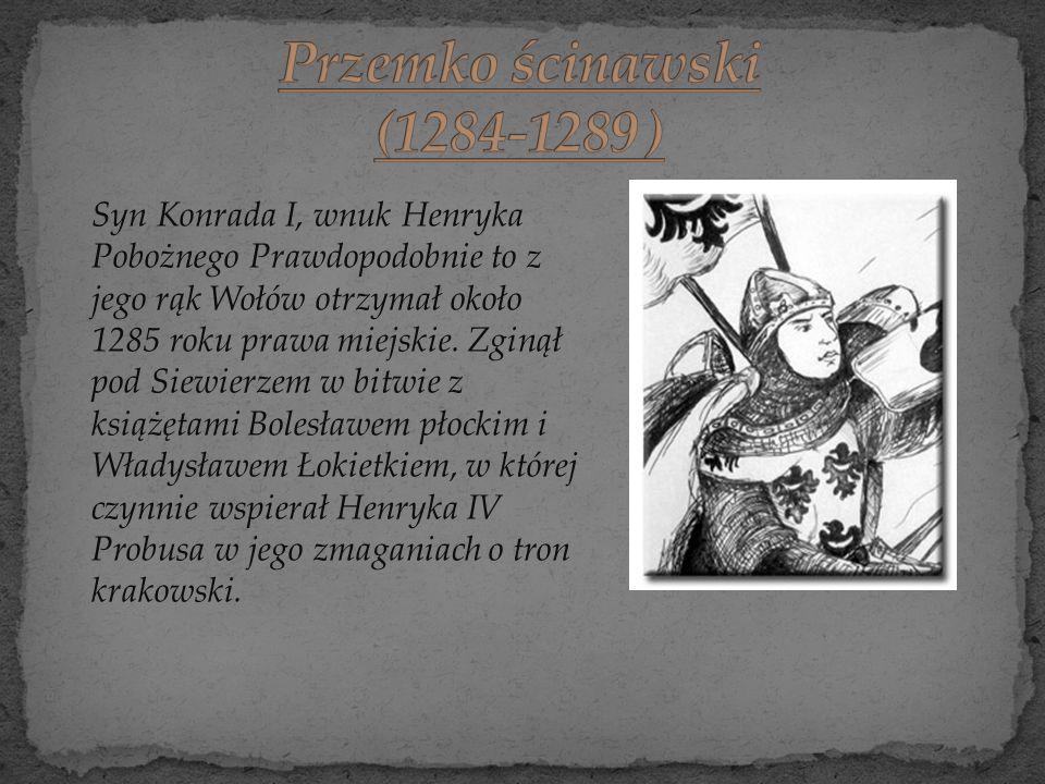 Przemko ścinawski (1284-1289 )