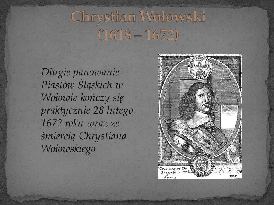 Chrystian Wołowski (1618 – 1672)