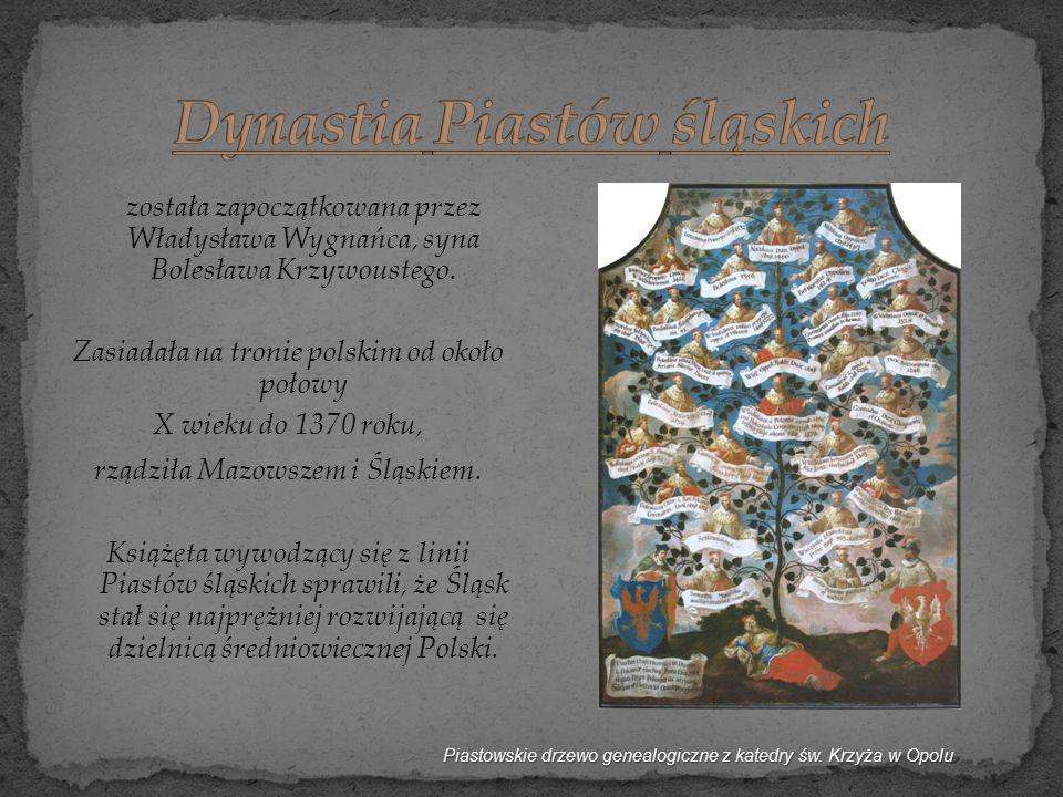 Dynastia Piastów śląskich