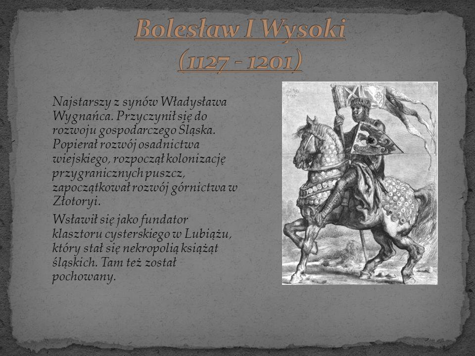 Bolesław I Wysoki (1127 - 1201)