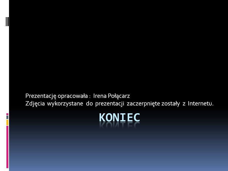 Koniec Prezentację opracowała : Irena Połącarz