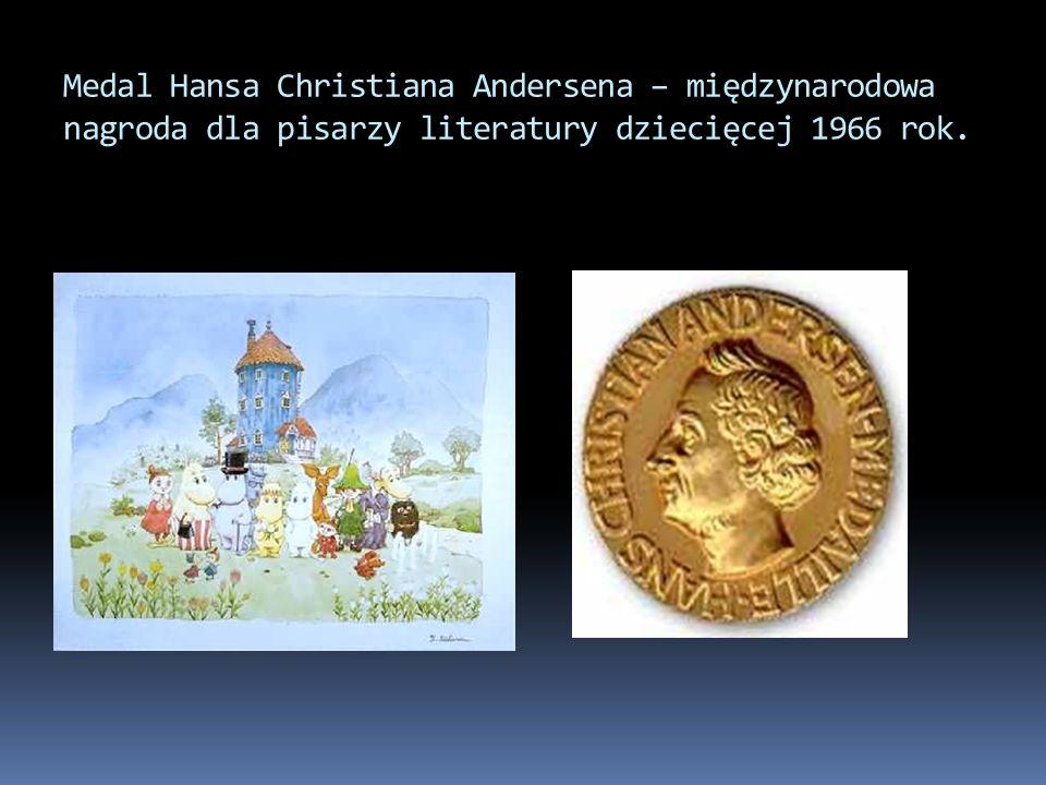 Medal Hansa Christiana Andersena – międzynarodowa nagroda dla pisarzy literatury dziecięcej 1966 rok.