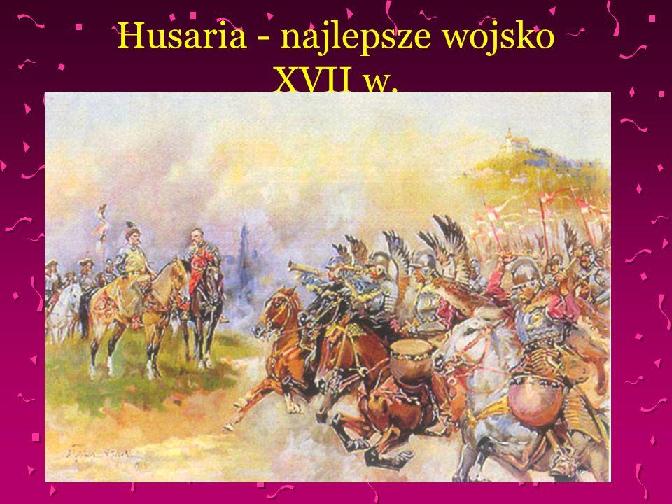 Husaria - najlepsze wojsko XVII w.