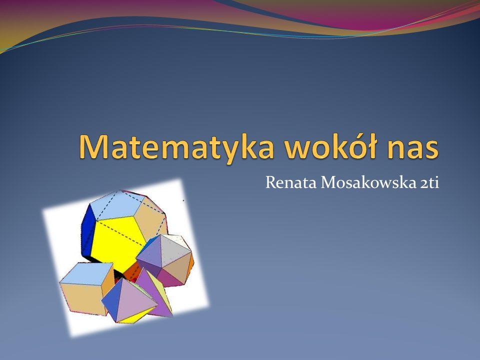 Matematyka wokół nas Renata Mosakowska 2ti