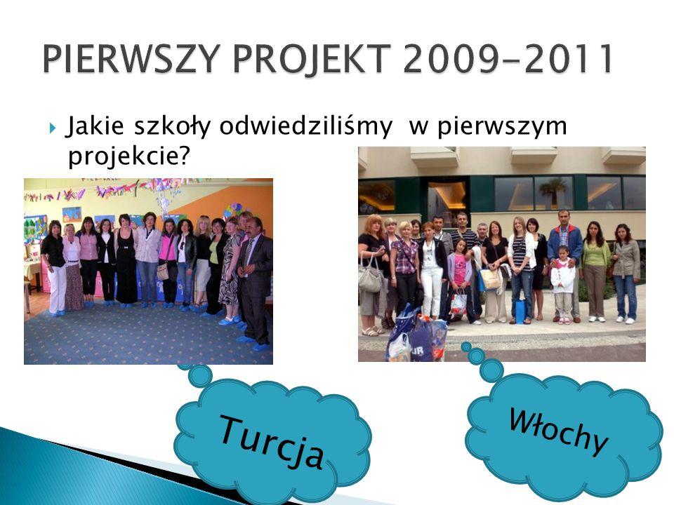 PIERWSZY PROJEKT 2009-2011 Turcja Włochy