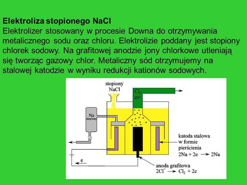 Elektroliza stopionego NaCl