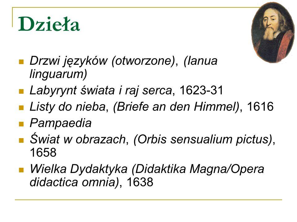 Dzieła Drzwi języków (otworzone), (Ianua linguarum)