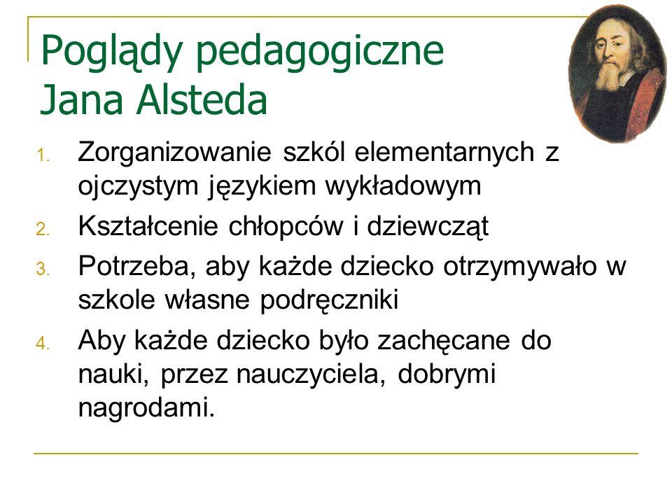 Poglądy pedagogiczne Jana Alsteda