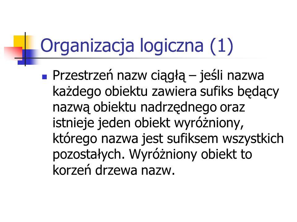 Organizacja logiczna (1)