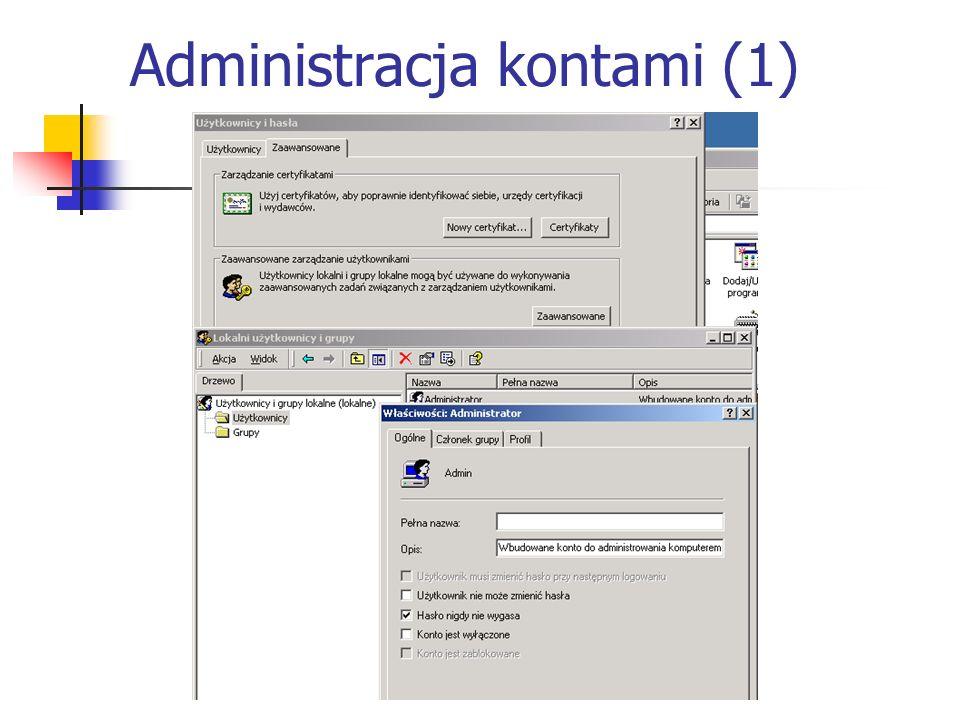 Administracja kontami (1)
