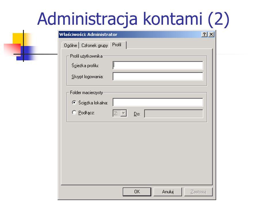 Administracja kontami (2)