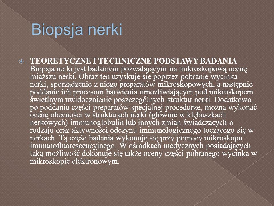 Biopsja nerki