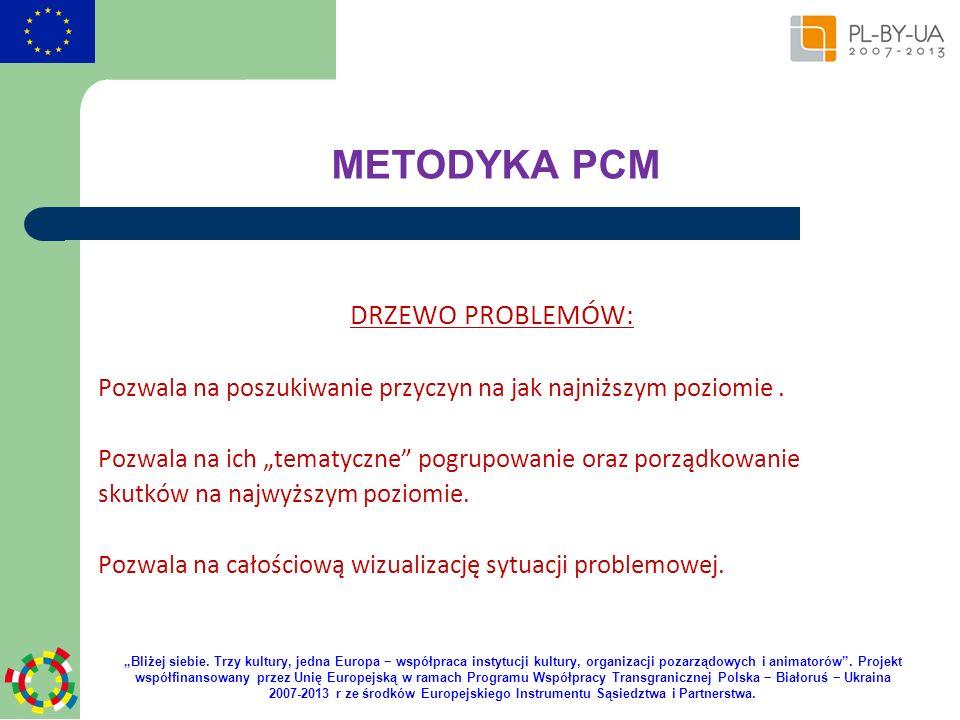 METODYKA PCM DRZEWO PROBLEMÓW: