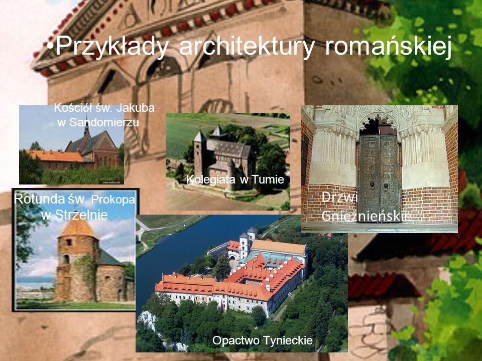 Przykłady architektury romańskiej