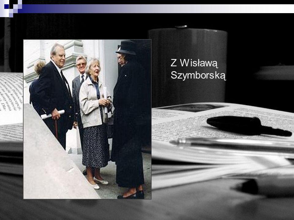 Z Wisławą Szymborską