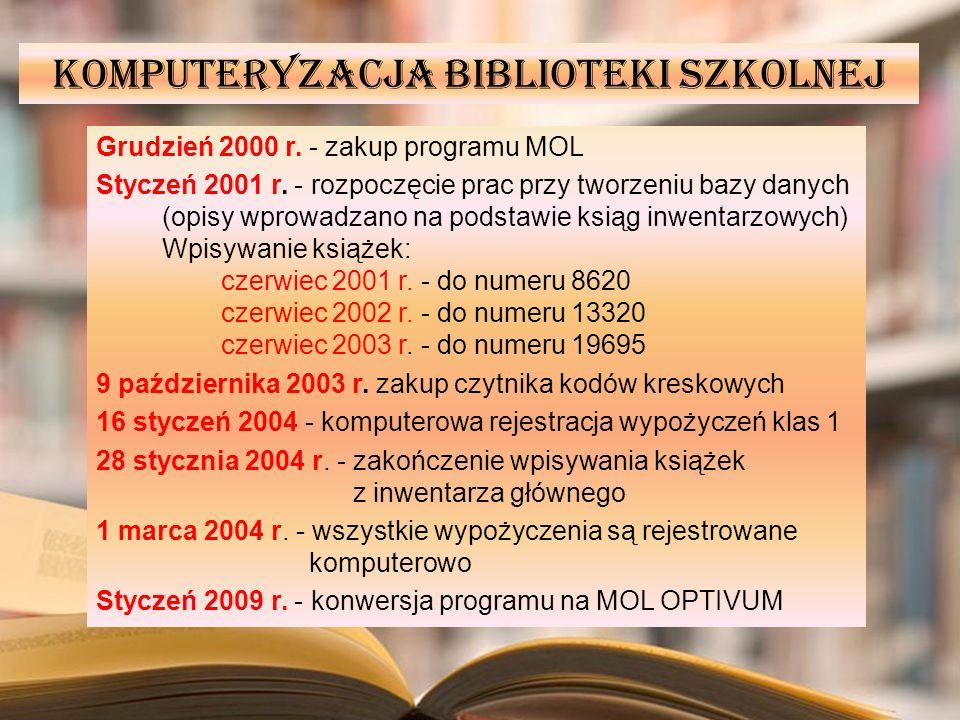 Komputeryzacja biblioteki szkolnej