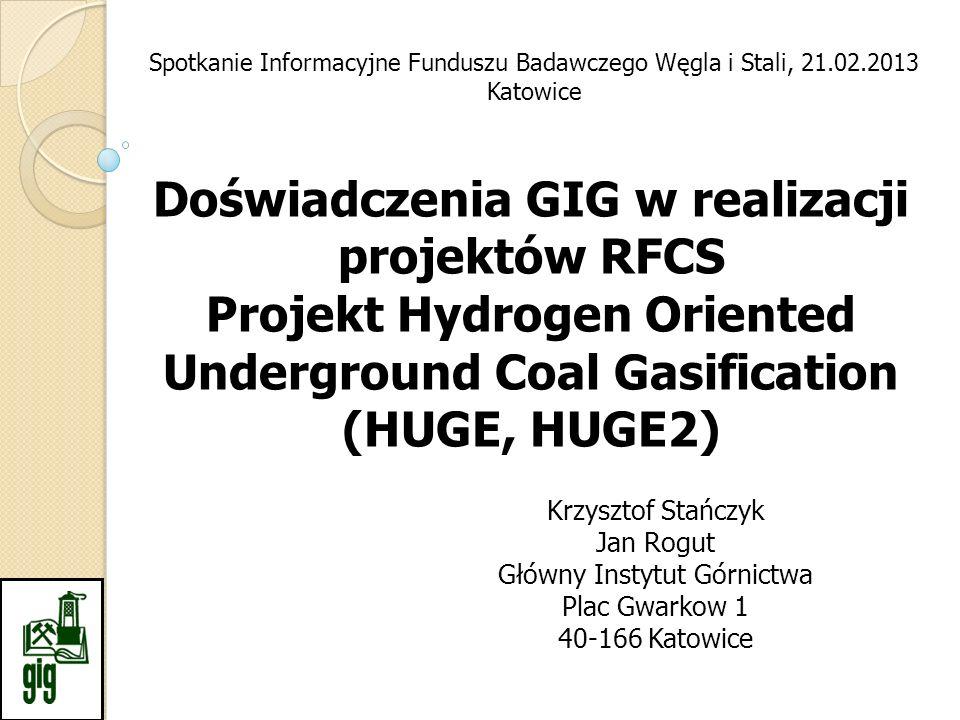 Doświadczenia GIG w realizacji projektów RFCS