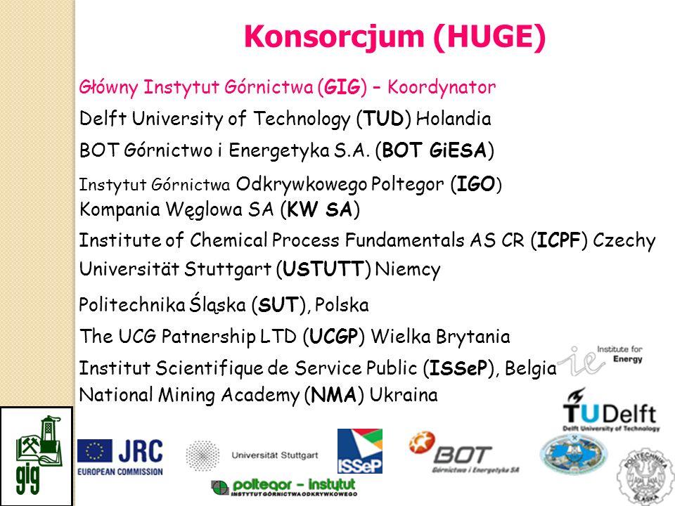 Konsorcjum (HUGE) Główny Instytut Górnictwa (GIG) – Koordynator