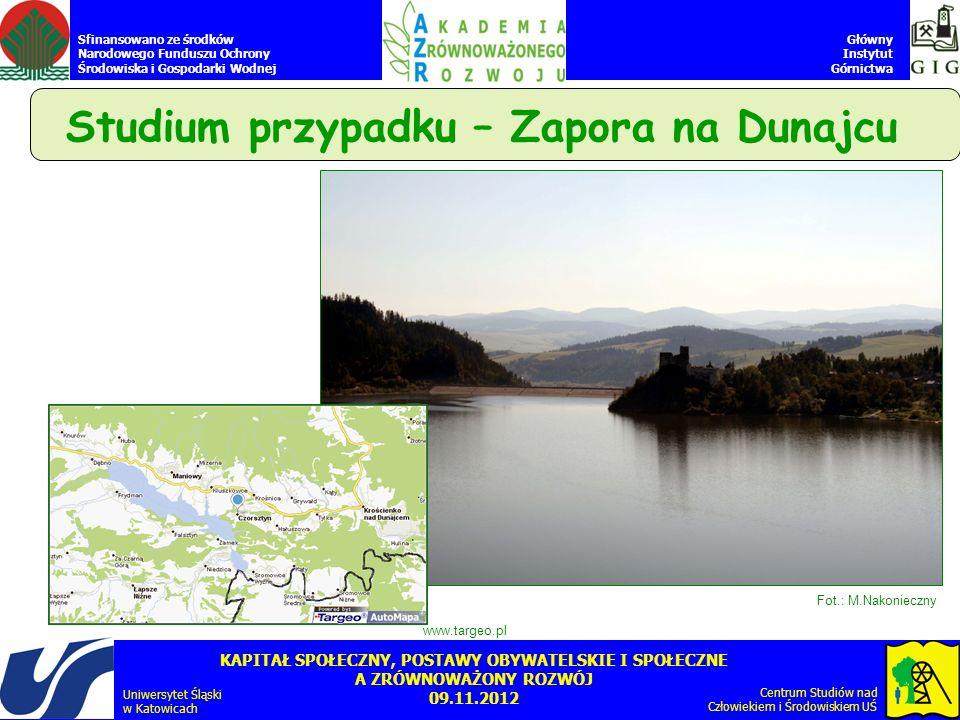 Studium przypadku – Zapora na Dunajcu