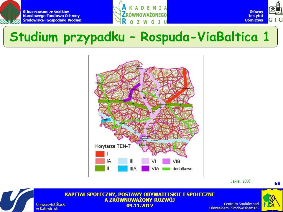 Studium przypadku – Rospuda-ViaBaltica 1
