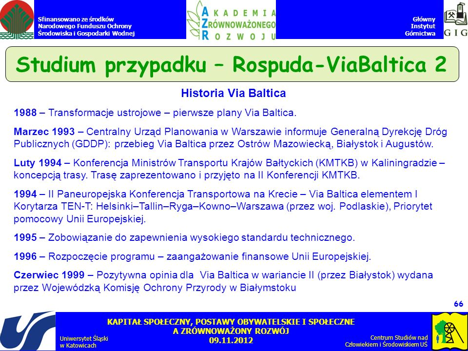 Studium przypadku – Rospuda-ViaBaltica 2