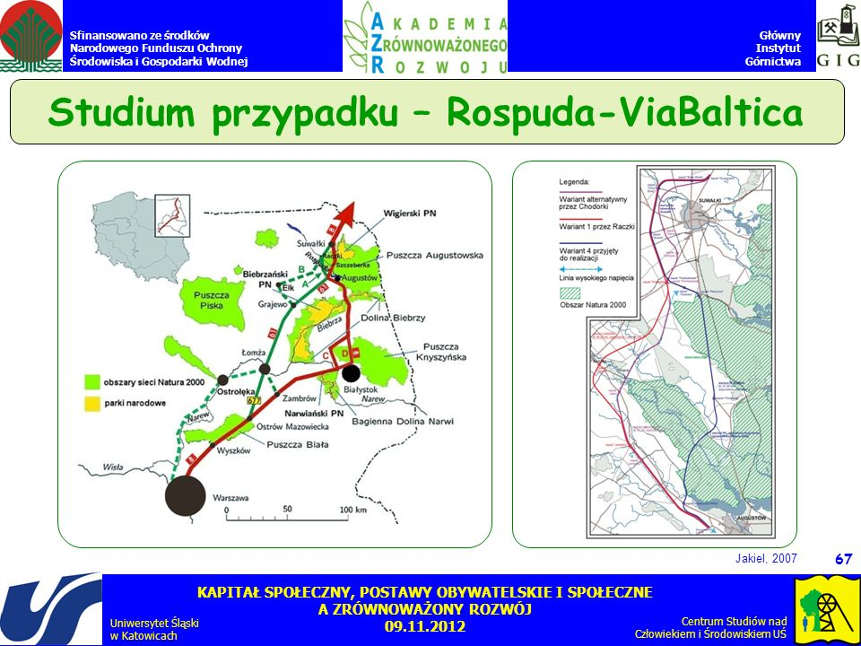 Studium przypadku – Rospuda-ViaBaltica