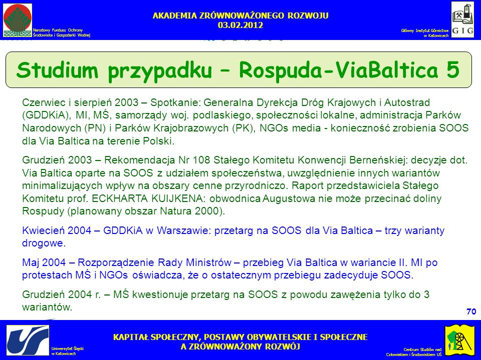 Studium przypadku – Rospuda-ViaBaltica 5