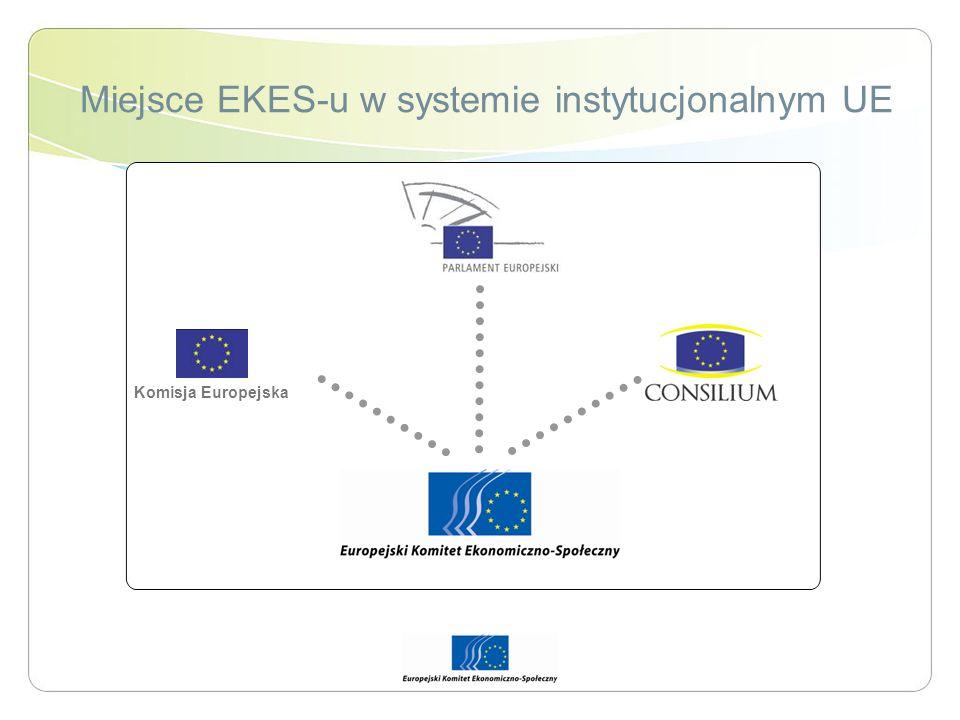 Miejsce EKES-u w systemie instytucjonalnym UE