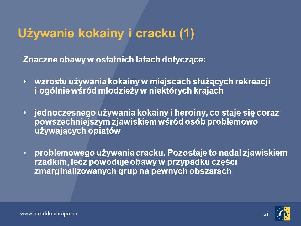 Używanie kokainy i cracku (1)