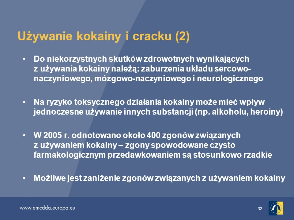 Używanie kokainy i cracku (2)