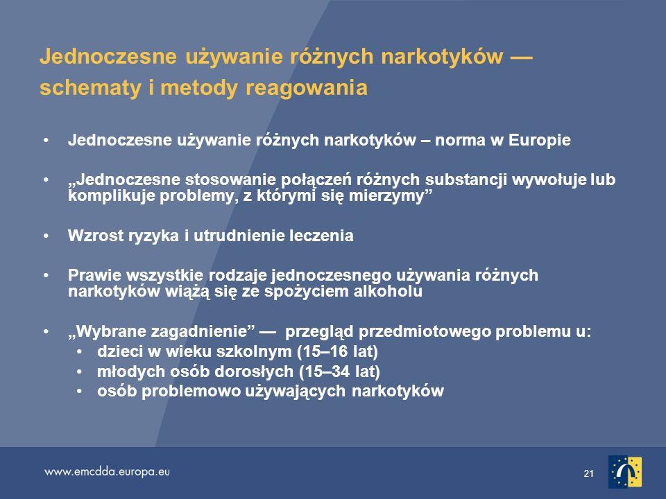 Jednoczesne używanie różnych narkotyków — schematy i metody reagowania