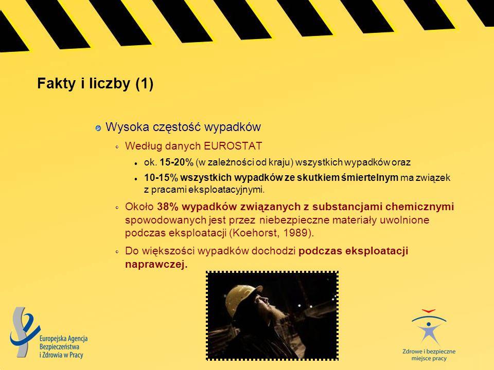 Fakty i liczby (1) Wysoka częstość wypadków Według danych EUROSTAT
