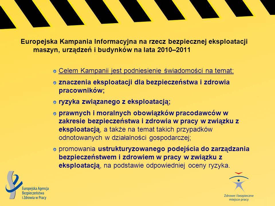 Europejska Kampania Informacyjna na rzecz bezpiecznej eksploatacji maszyn, urządzeń i budynków na lata 2010–2011