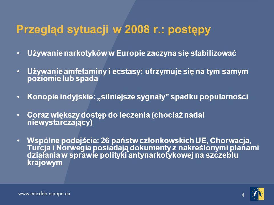 Przegląd sytuacji w 2008 r.: postępy
