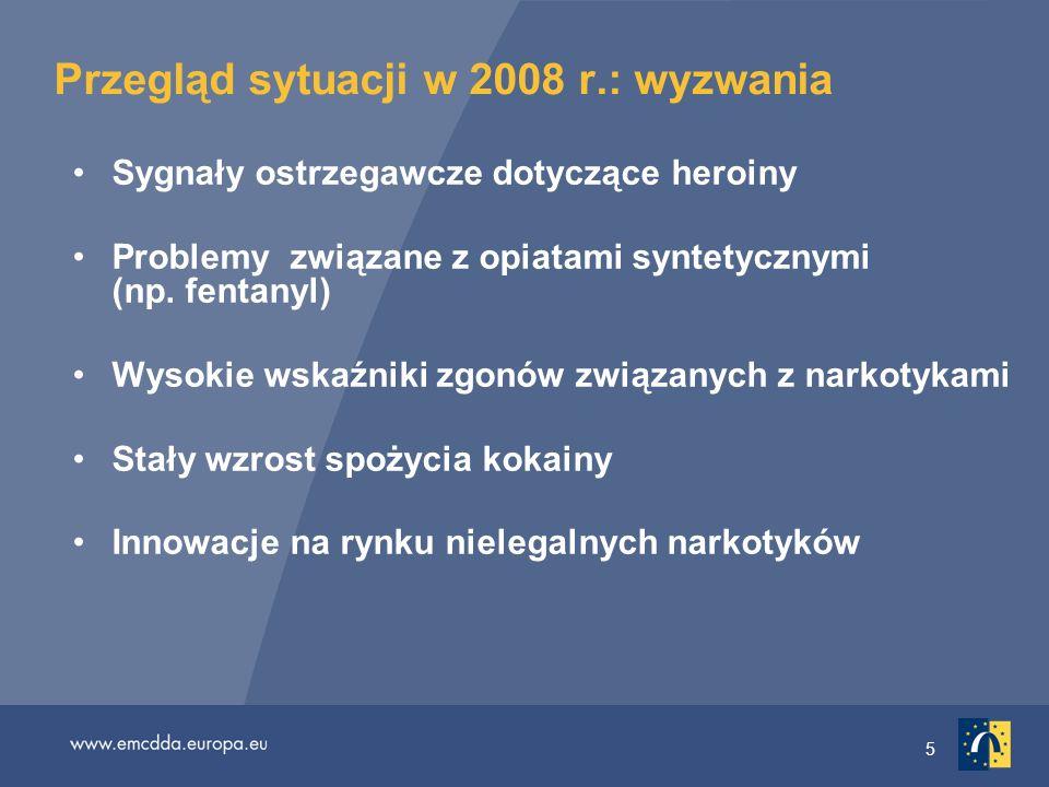 Przegląd sytuacji w 2008 r.: wyzwania