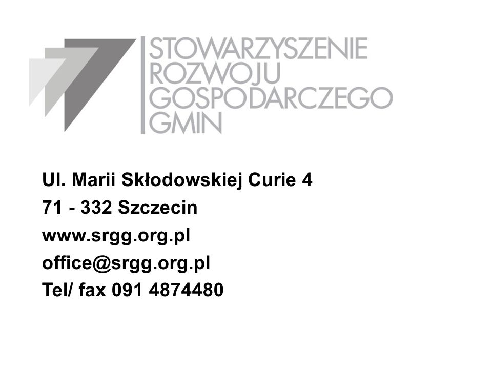 Ul. Marii Skłodowskiej Curie 4