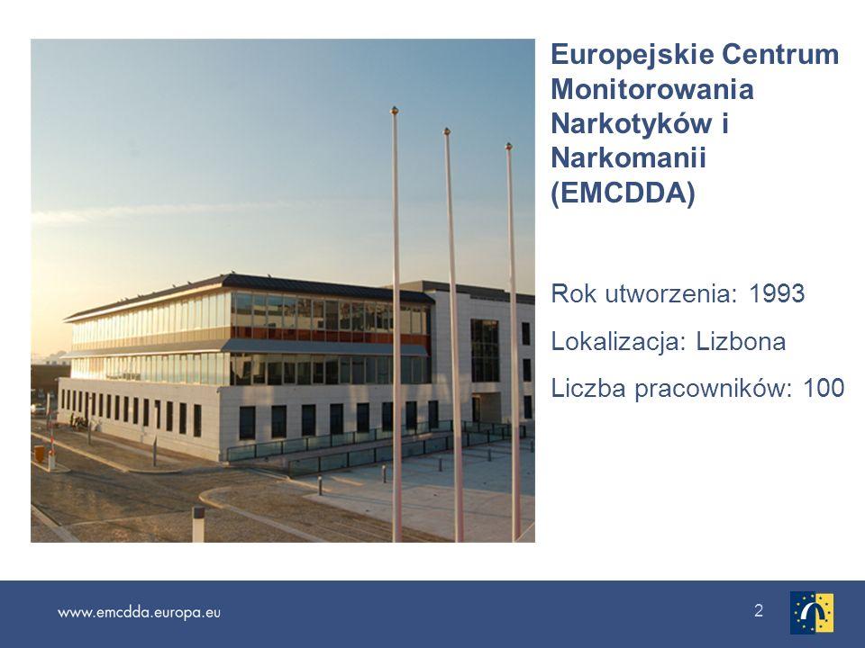 Europejskie Centrum Monitorowania Narkotyków i Narkomanii (EMCDDA)
