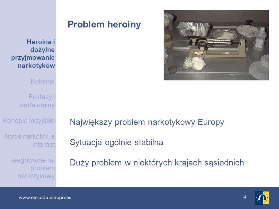 Problem heroiny Największy problem narkotykowy Europy