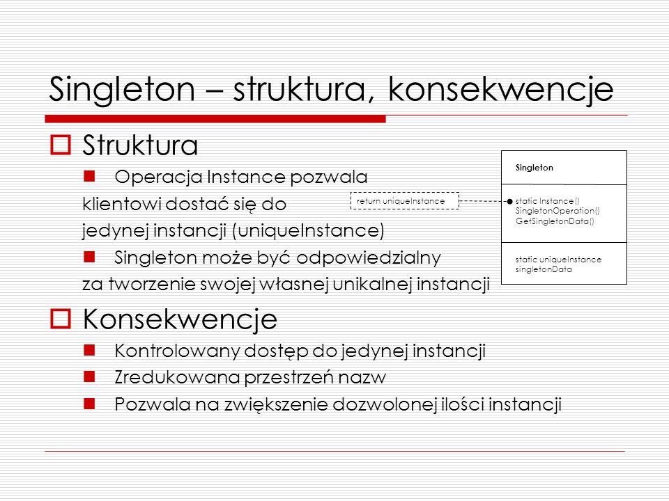 Singleton – struktura, konsekwencje