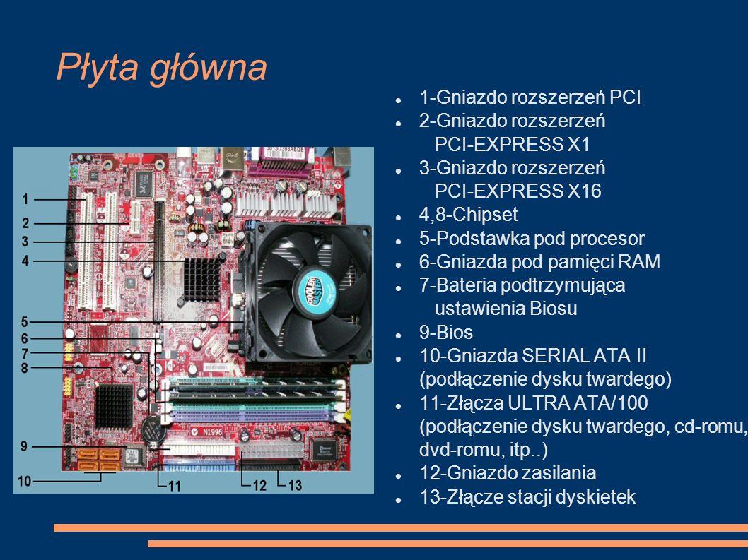 Płyta główna 1-Gniazdo rozszerzeń PCI