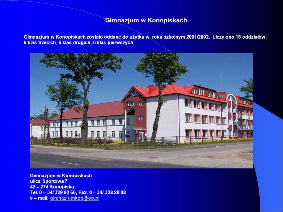 Gimnazjum w Konopiskach
