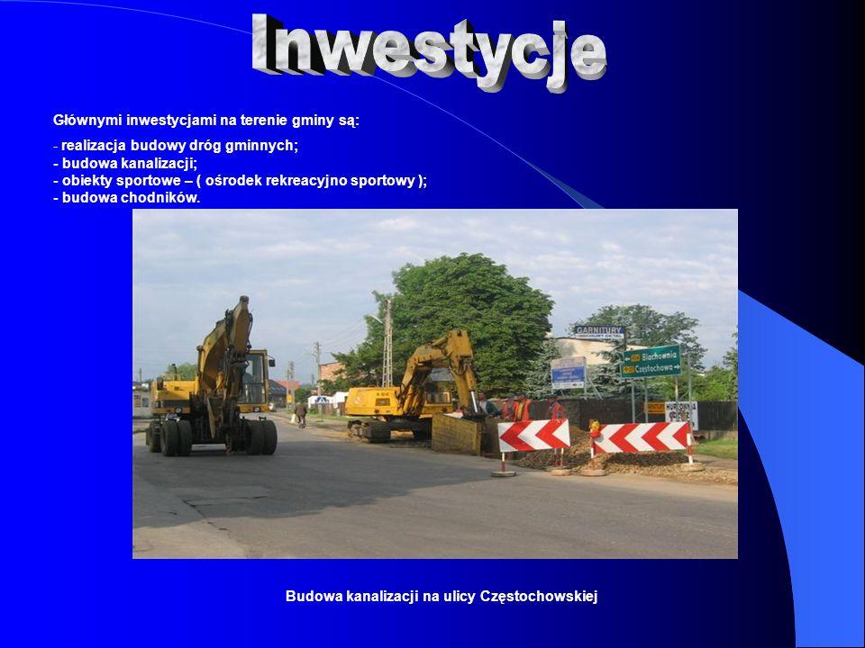 Budowa kanalizacji na ulicy Częstochowskiej