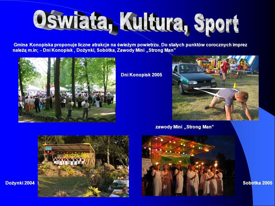 Oświata, Kultura, Sport